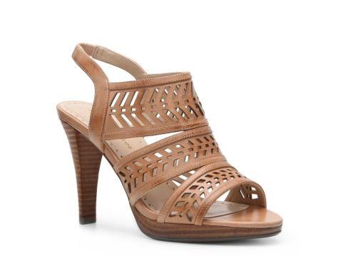 Adrienne Vittadini Prim Platform Sandal
