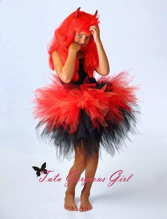 f5727fffaf65 Pin by Dolores Paulino on adult tutu | Devil halloween costumes, Devil  costume, Devil halloween