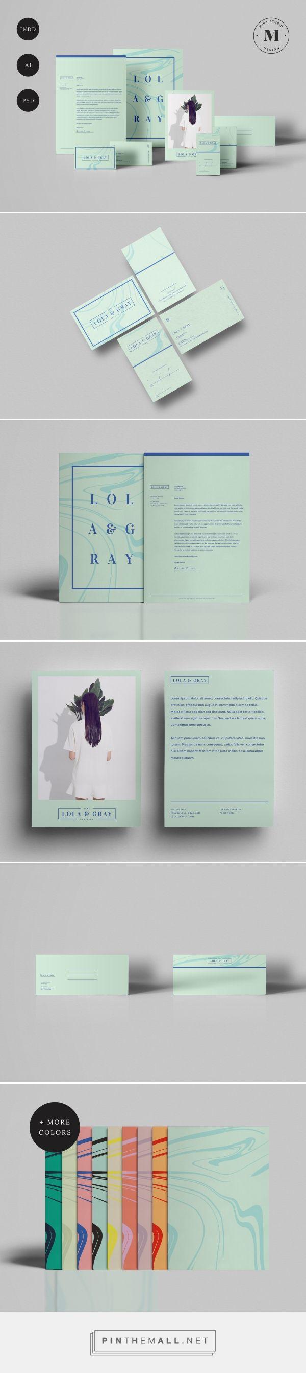 Lola & Gray Branding by Mint Studio Design | Fivestar Branding