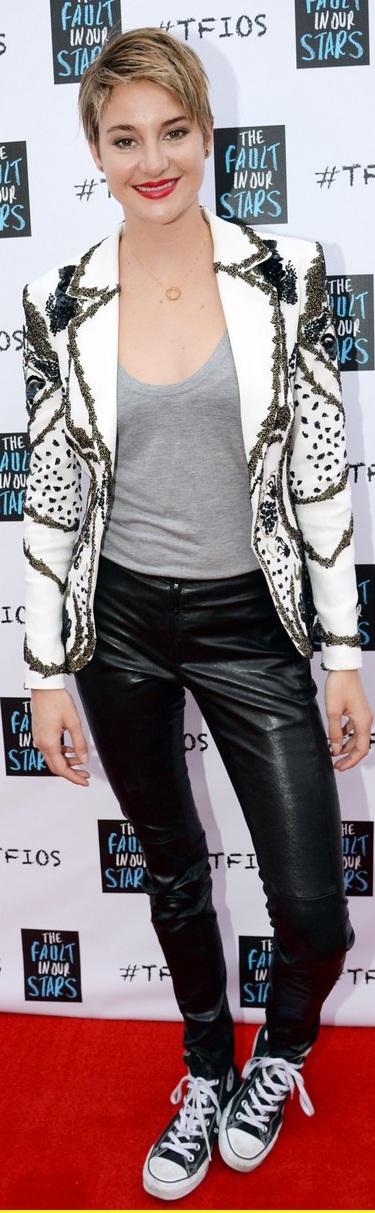 Shailene Woodley In Zuhair Murad & Barbara Bui – 'The Fault In Our Stars' Nashville Fan Event