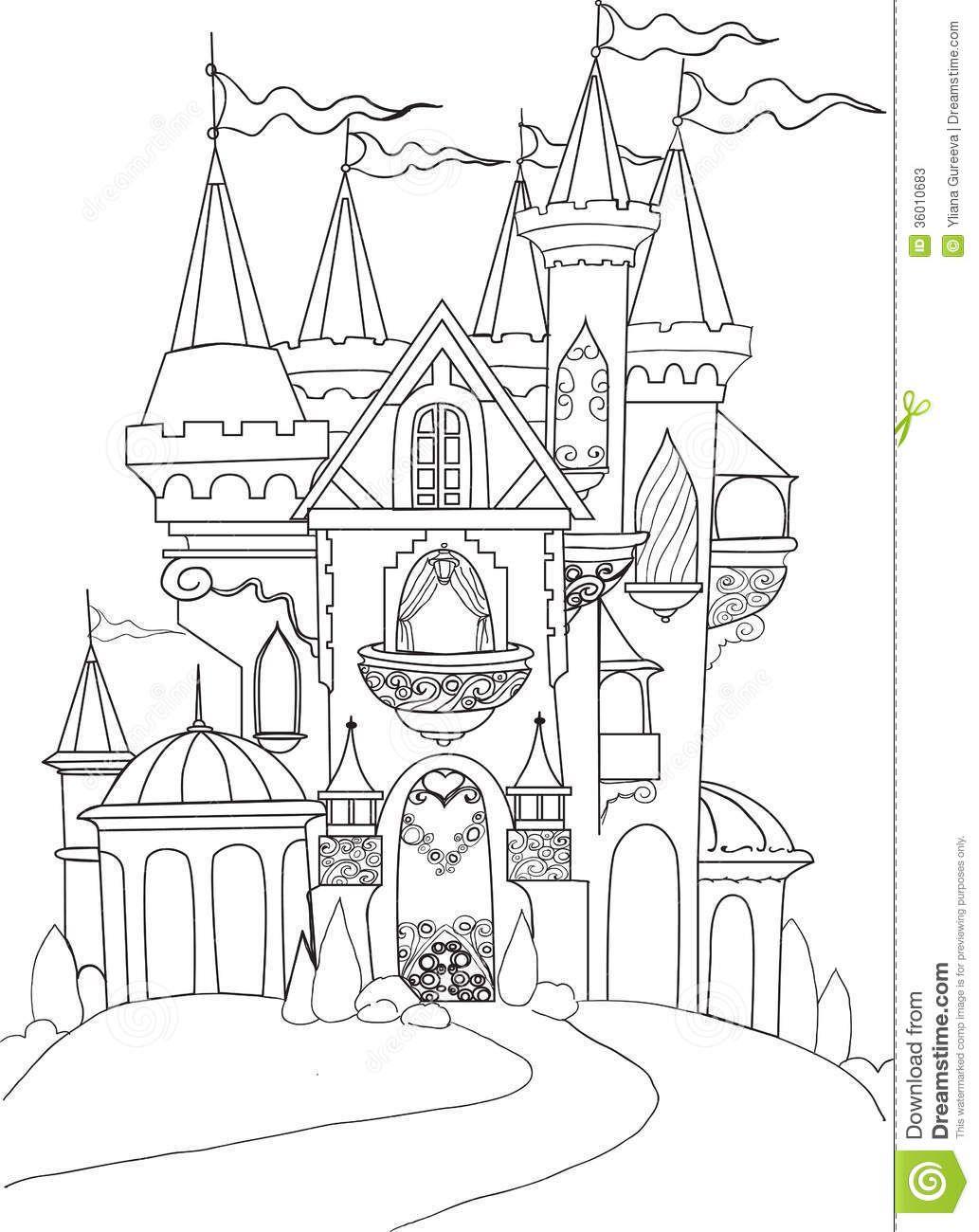 Disney Castle Google Search Castle Coloring Page Disney Princess Coloring Pages Princess Coloring Pages