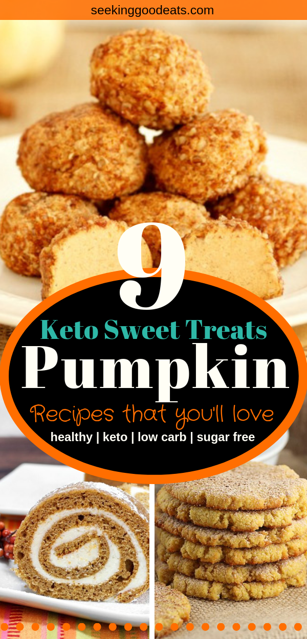 40+ Perfect Keto Pumpkin Recipes #ketocookierecipes