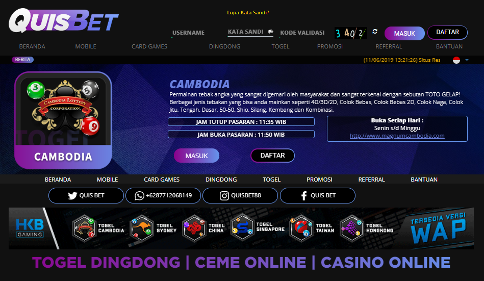 BANDAR TOGEL CAMBODIA Permainan tebak angka yang sangat