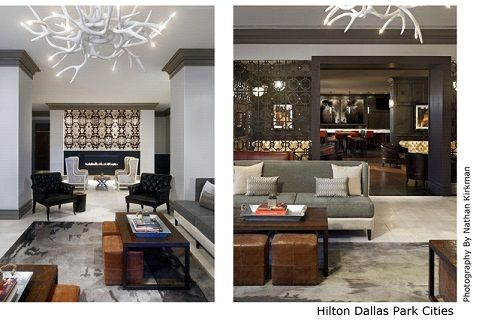 Best mid range/economy public space, the reception of the Hilton