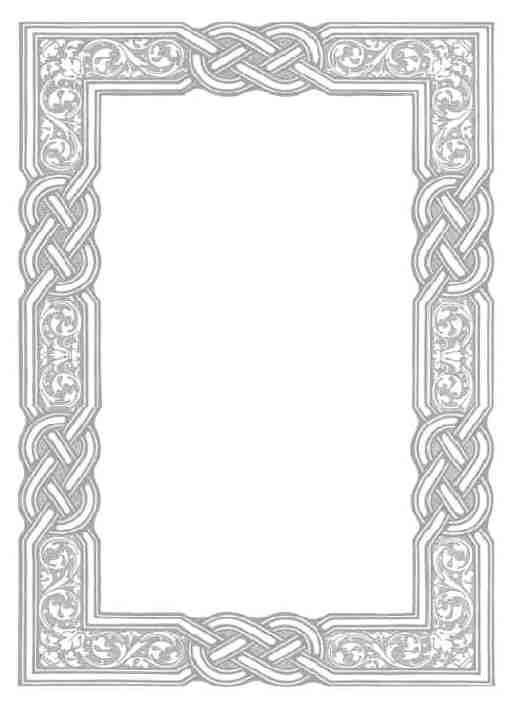 Silver Pewter Celtic Frame Ideas Good For Putting In Wedding