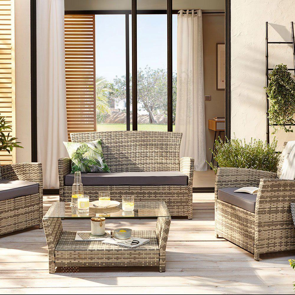 Salon de jardin en résine : notre sélection | Décoration extérieure ...