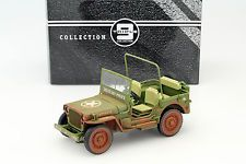 Jeep Willy's military police Dirty Version Year 1941 green 1:18 Triple9