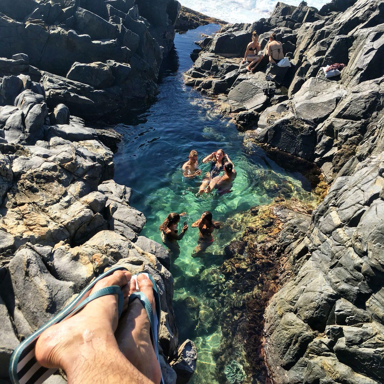Trampoline Springs Sunshine Coast: Fairy Pools At Noosa National Park, Qld, Australia!