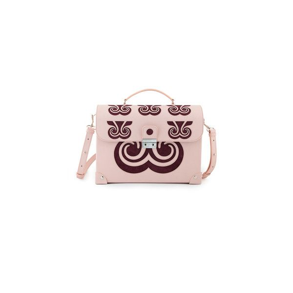 Holly Fulton (€1.050) ❤ liked on Polyvore featuring bags, handbags, genuine leather handbags, genuine leather purse, leather crossbody bag, leather cross body purse and crossbody purse