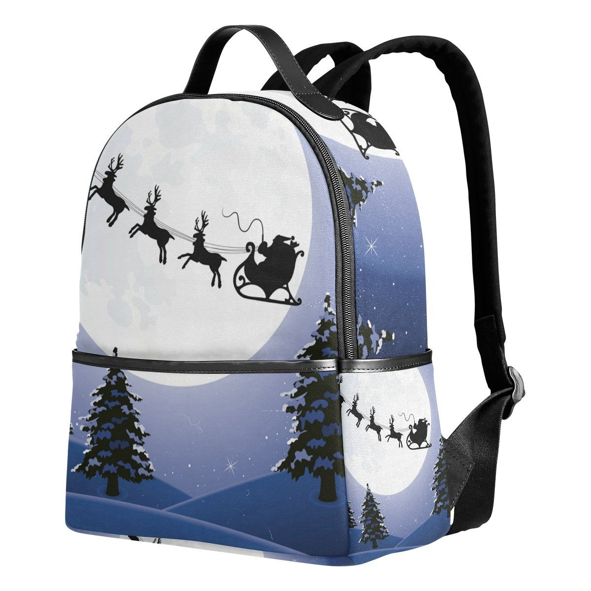 089813db795e JSTEL Snowman And Christmas Tree School Backpack 2th 3th 4th Grade for Boys  Teen Girls Kids -- See this great product. (Note Amazon affiliate link)