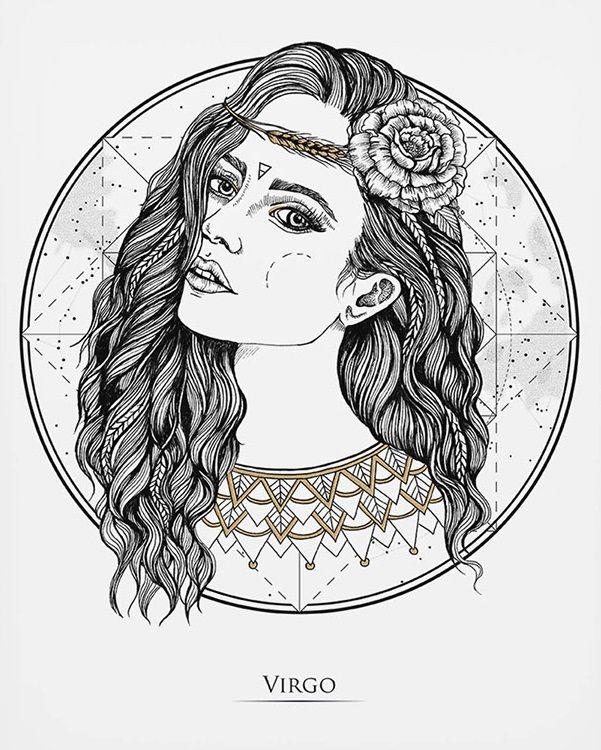 Virgo The Cosmic Maiden Virgo Virgo Art Virgo Virgo