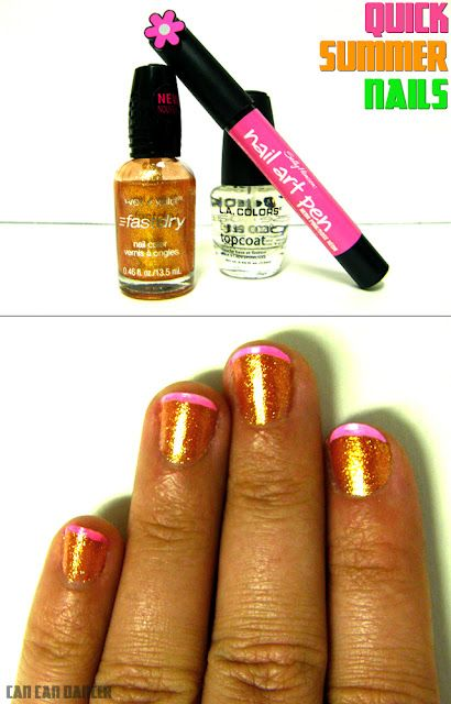I do not like these colors together but I really need to try the nail pens