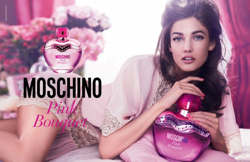 MOSCHINO_PINKBOUQUET2 | Fragrance ad, Moschino, Pink bouquet