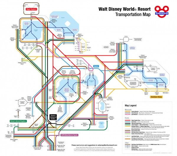 How to navigate with Disney World transportation | M MOUSE ...