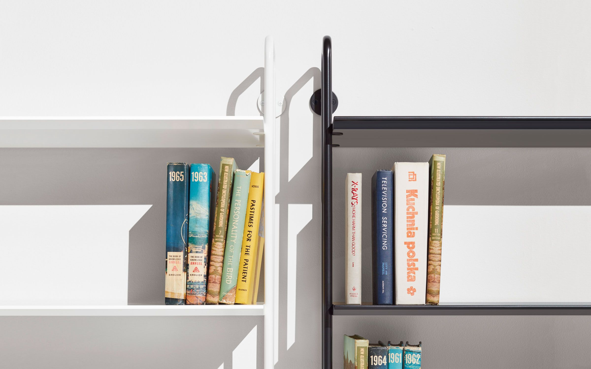 Hitch addon ladder bookcase ladder bookshelf blu dot daveus