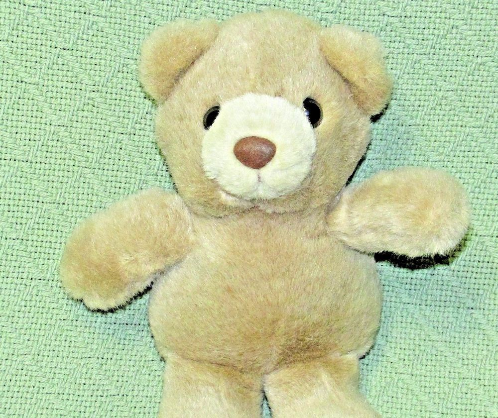 Vintage Teddy 1996 Mary Meyer Bear 9 Long Tan Plush Stuffed Cuddly