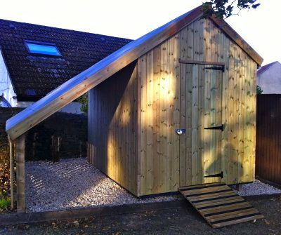 Garden Shed With Large Overhang Shed With Overhang For Wood Store Garden Sheds Chicken Coops Tabl Shed Design Building A Shed Backyard Sheds