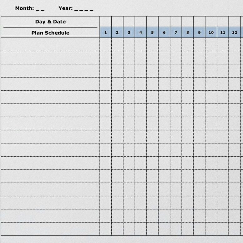 Printable habit tracker daily/weekly/monthly/yearly ...