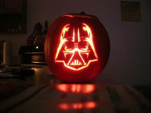 Star Wars Darth Vader Light Up Pumpkin Pumpkin Carving Darth