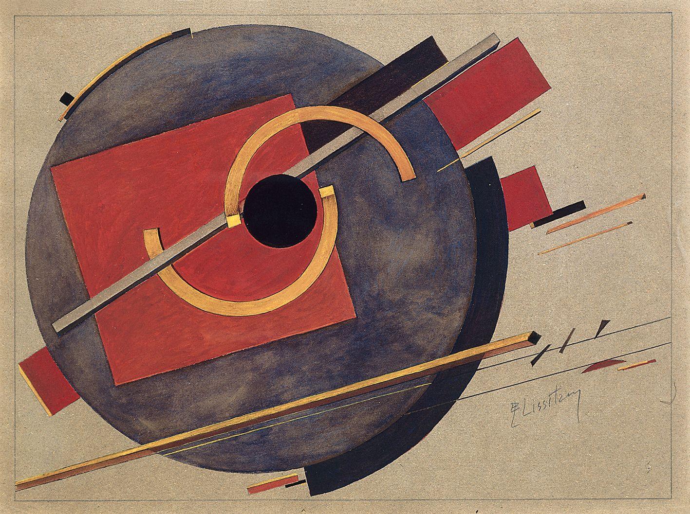 Image result for El Lissitzky artwork