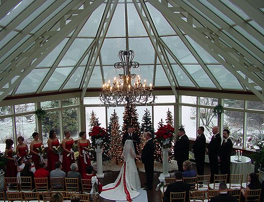 Springwood Conference Center, Pittsburgh: Winter Wedding
