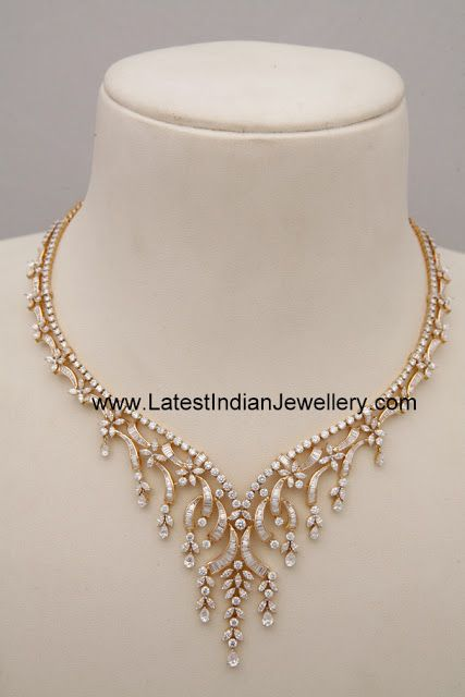 Lovely Designer Diamond Jewellery Gallery Latest Indian Jewellery