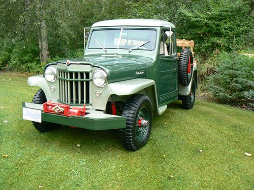 1956 Willys Truck Photo Submitted By Wayne Wark
