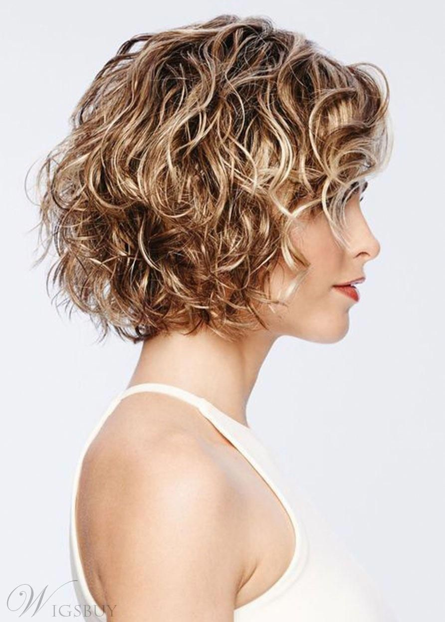 lockigeBobFrisuren in 10  Haare frisieren, Frisuren für dünne