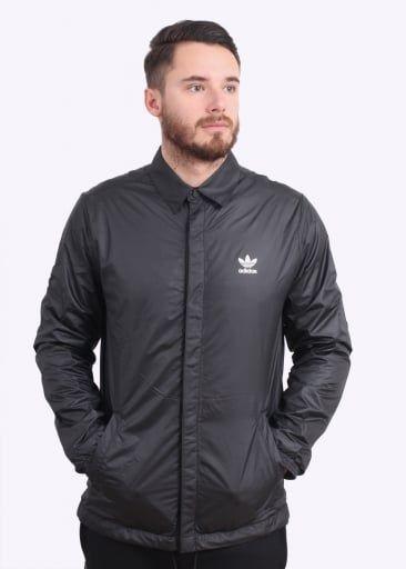 Jacket Originals Coach Apparel Black Adidas qARztSR