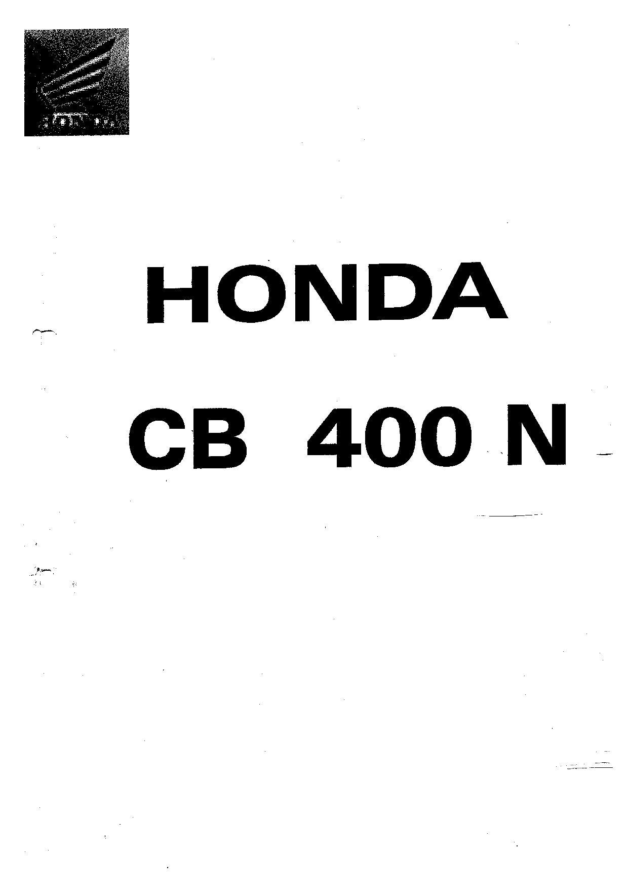 Service Manual Honda Cb Twister