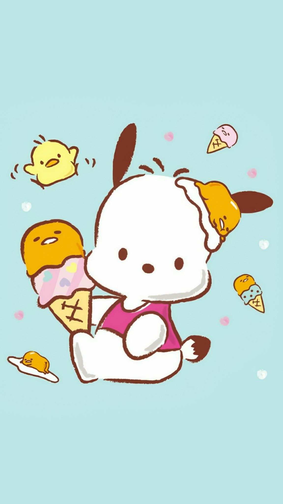 Pin By Apoame On Pochacco Cute Cartoon Wallpapers Character Wallpaper Sanrio Characters