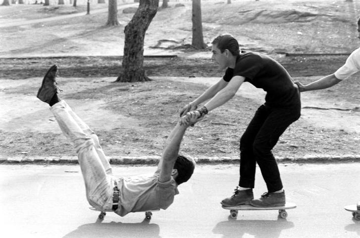 Skating revolution.