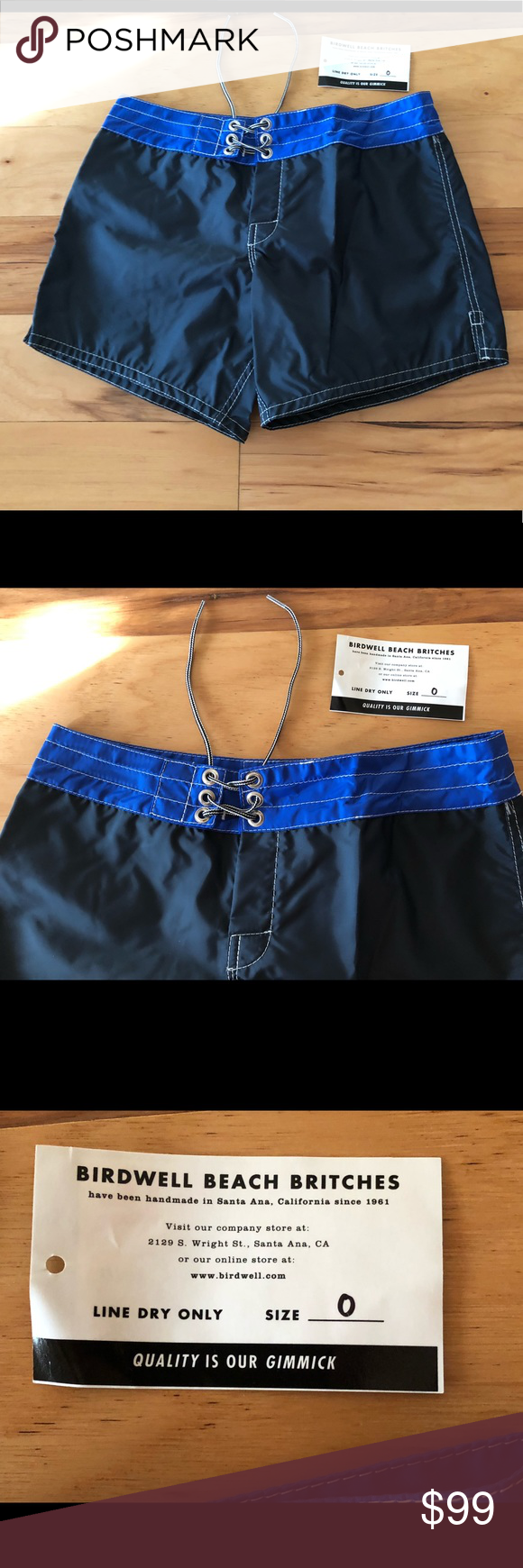 cdcecadc6e5 NWT Birdwell Beach Britches Women's Board Shorts NWT Birdwell Beach Britches  For J Crew Womens Board Shorts Swim Sz 0 You are buying the exact item in  the ...
