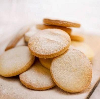 Galletas de mantequilla (manteca) basicas y faciles
