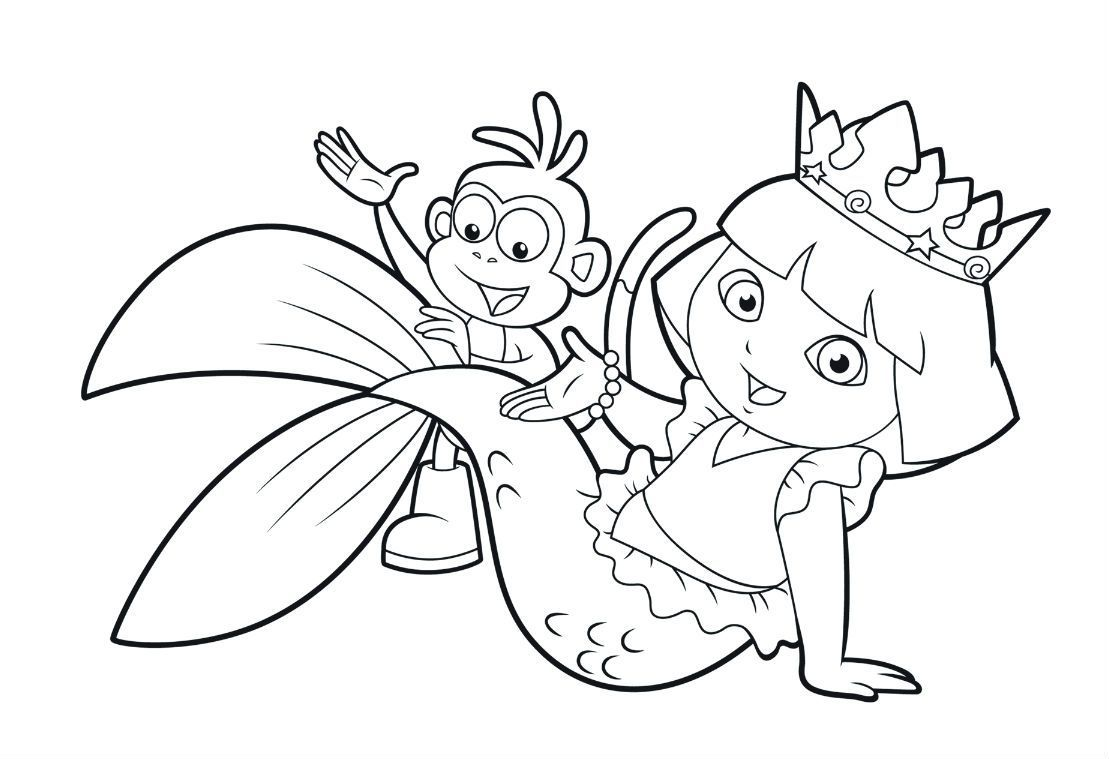 Dora Mermaid Coloring Pages Dora Mermaid Coloring Pages Mermaid Coloring Pages Dora Coloring Mermaid Coloring