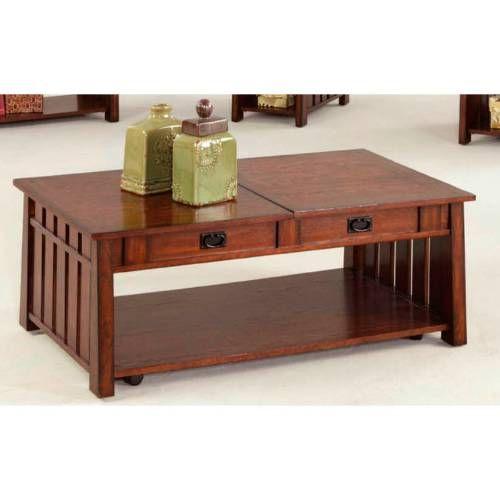 Progressive Furniture P473 15 Mountain Mission Sliding Lift Top Cocktail Table In Dark Ash Furniture Magazine Furniture Craftsman Coffee Tables