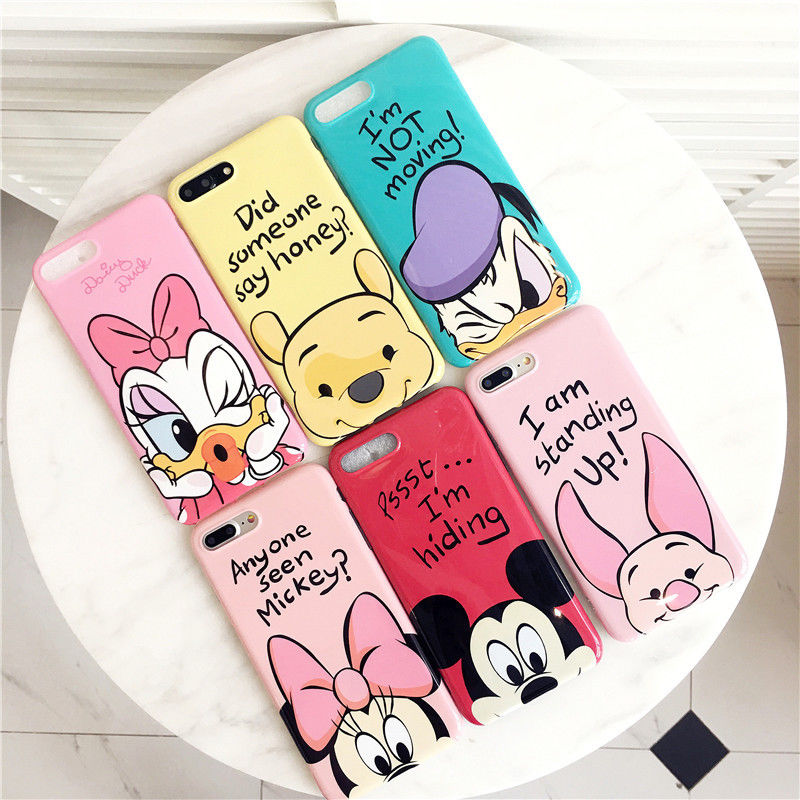 For iphone x xsmax xr 6s7 8 plus cute cartoon mouse duck