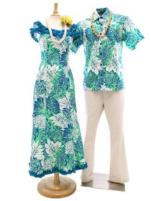 Online Shop Free Shipping From Hawaii Hawaiian Outfit Island Style Clothing Hawaiian Dress