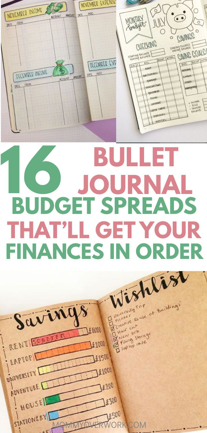 16 bullet journal budget expense trackers that re on the money