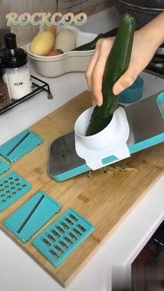 Stainless Steel Magnetic Vegetable Slicer Mutifunctional Fruit Cutter Shredder Kitchen Tool