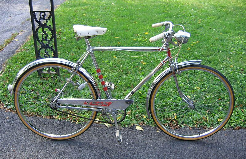vintage chrome hercules 3-speed bicycle | For the bike ...