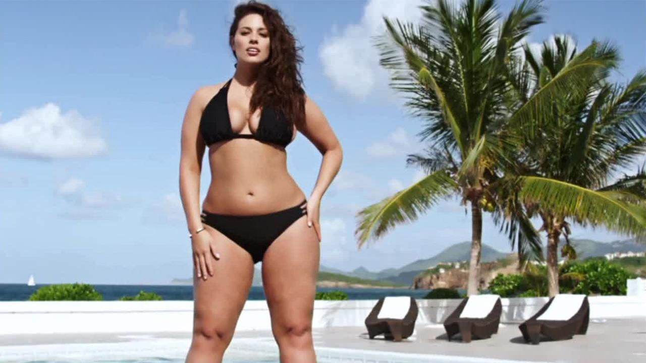Sports Illustrated features first plus-size swimsuit model | ABC ...