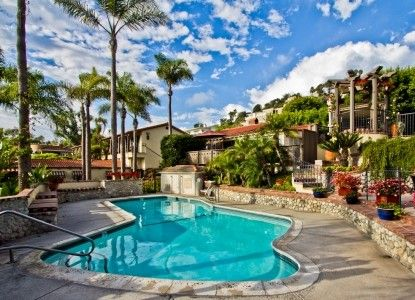 Casa Laguna Inn in Laguna Beach California! this is the most amazing hotel I have ever stayed in. I recommend it for everyone visiting Laguna
