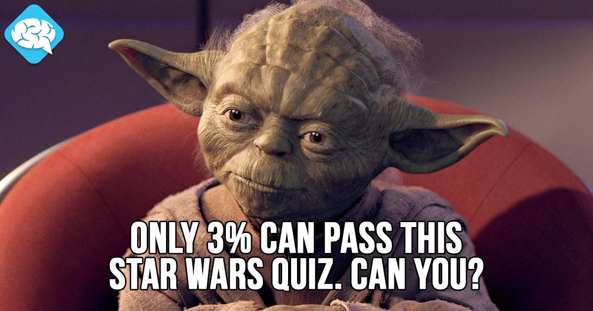 Only 3% Can Pass This Star Wars Quiz. Can you? | BrainFall