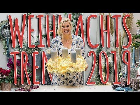 WEIHNACHTSTRENDS 2019 - ERSTE EINDRÜCKE FÜR DIE WEIHNACHTSDEKO 2019