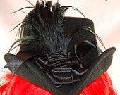 Victorian Goth Steampunk Top Hat