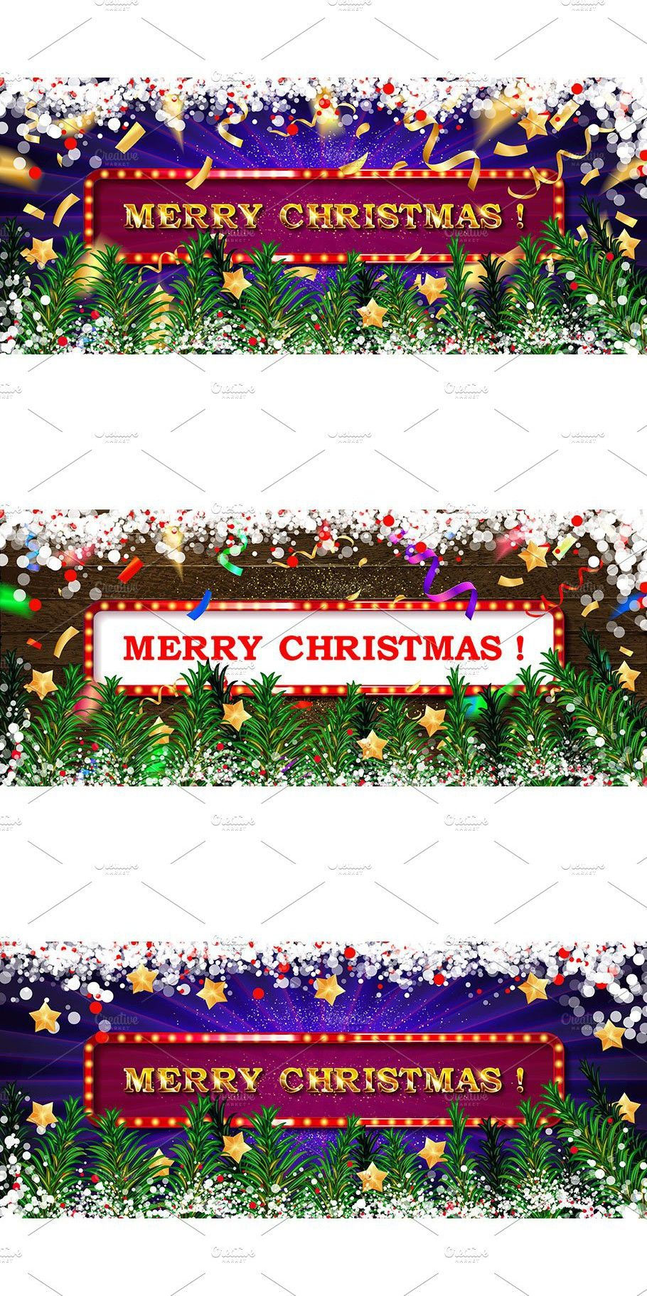 3 Merry Christmas Greeting Cards Merry Christmas Card Greetings Christmas Greeting Card Template Greeting Card Template