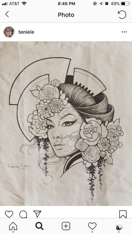 Traditional japanese tattoos outline , traditioneller japanischer tätowierungsentwurf , contour de tatouages japonais traditionnels , esquema