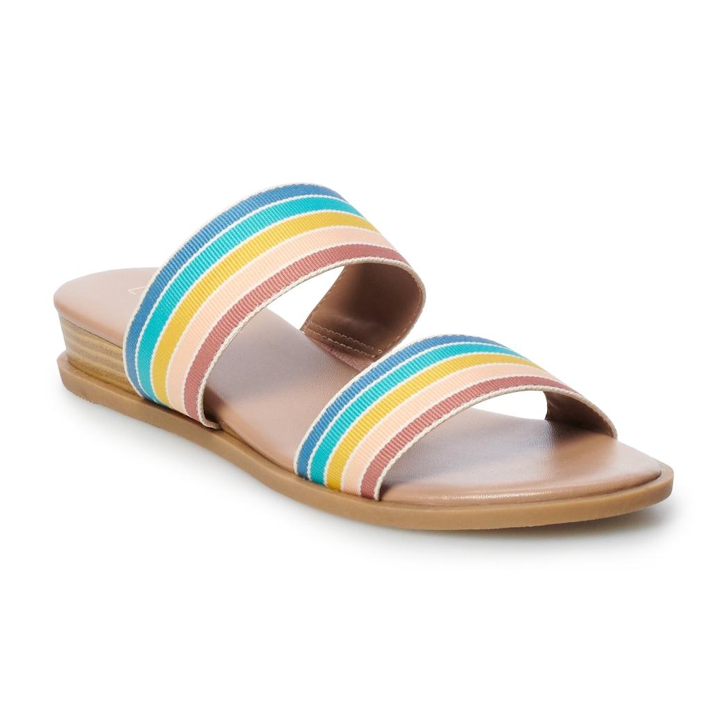 LC Lauren Conrad Admirer Womens High Heel sandals Blush