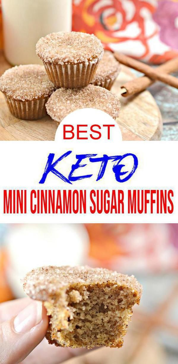 Check out these EASY simple ingredient Keto Cinnamon Sugar Mini Muffin Bites! These sugar